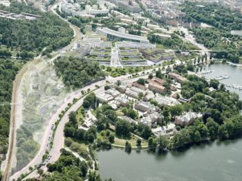 Presentationsbild för referensen Campus Albano - Stockholm