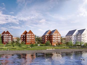 Presentationsbild för referensen Kanalhusen - Igelsta
