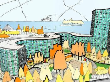 Presentationsbild för referensen Kv. Fyren - Nynäshamn
